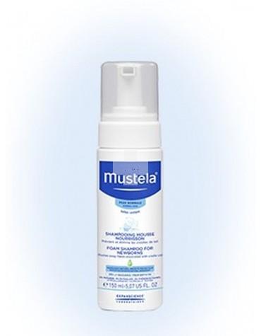 Mustela Champú Recién Nacido 150 ml. Ideal para prevenir la costra láctea desde el nacimiento.