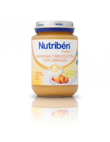 NUTRIBEN JUNIOR MANZANA MELOCOTON CEREALES