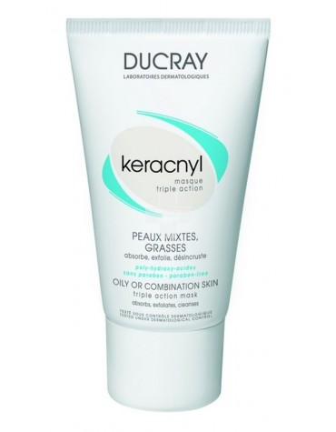 KERACNYL MASCARILLA TRIPLE ACCIÓN DUCRAY (40ml)