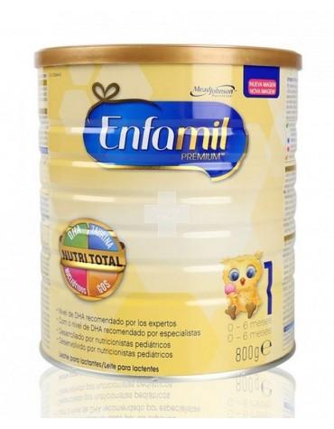 Enfamil 1 Premium 800 g leche para complementar la leche materna, desde el primer día