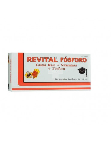 REVITAL FOSFORO+JALEA+VIT 20AM