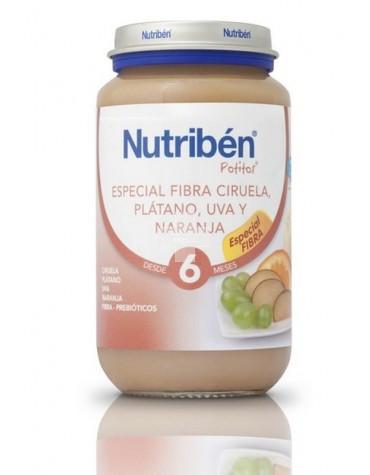 NUTRIBEN FIBRA CIRUELA, PLAT. UVA Y NARA 250 G