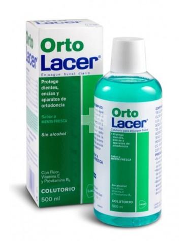 ORTO LACER COLUTORIO MENTA 500 ML