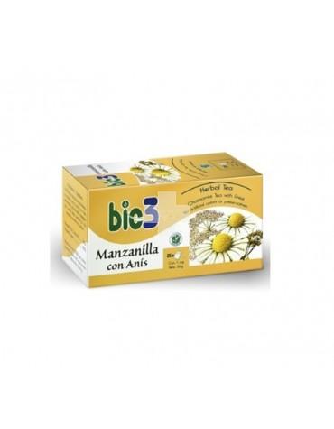 BIO3 MANZANILLA CON ANIS 25 FILTROS