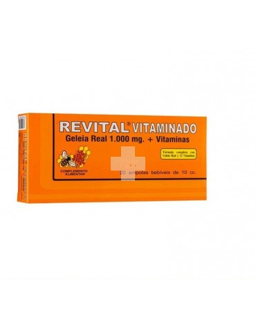 REVITAL JALEA 1000MG+VIT 20AMP
