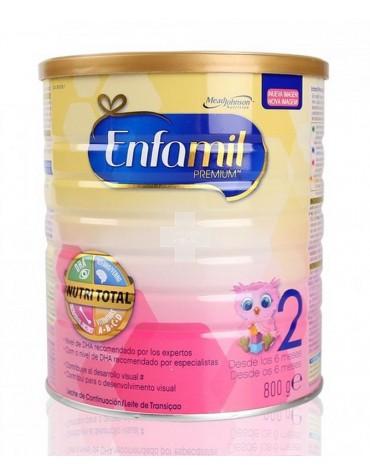 Enfamil 2 Premium 800 g leche para apoyar al crecimiento del bebé