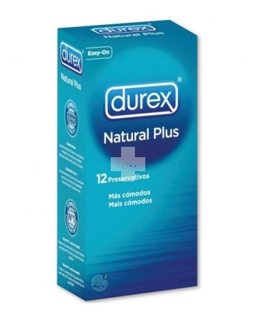 Dúrex natural plus 12 uds