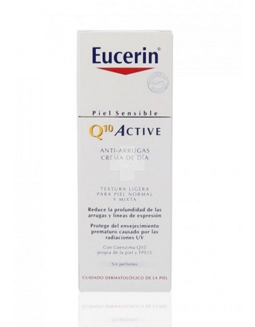 Eucerin Q10 Active Crema de Día Piel Normal Mixta 50 ml