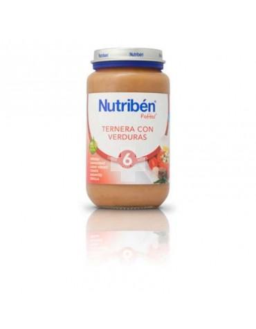 NUTRIBEN TERNERA CON VERDURAS 250 G
