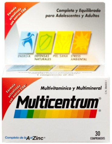 MULTICENTRUM LUTEINA 30 COMP