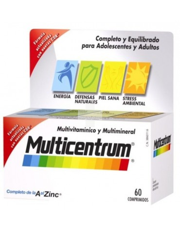 MULTICENTRUM LUTEINA 60 COMP