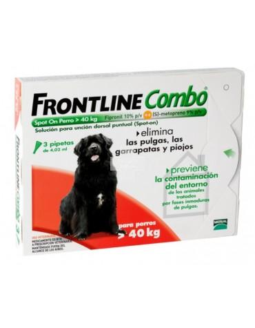 FRONTLINE COMBO PERRO 40/60K 3P