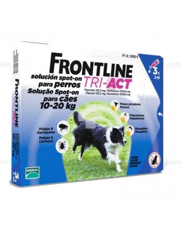 FRONTLINE TRI-ACT 10-20 KG, 3 PIPETAS