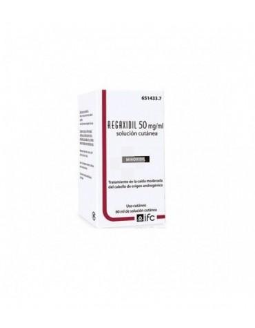 Regaxidil 50 mg/ml solución cutánea 60 ml