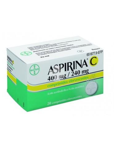 ASPIRINA C 20 COMP EFERV