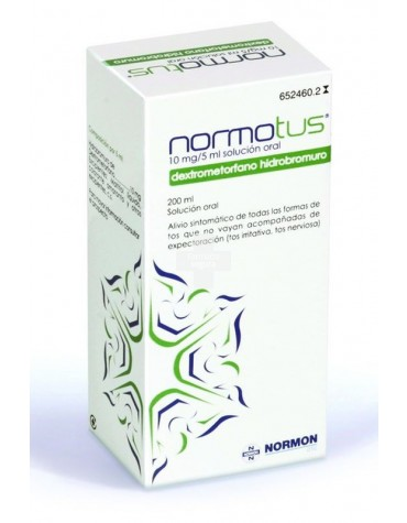 Normotus 2mg/ml Solución Oral
