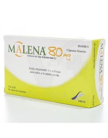 MALENA 80 mg 30 CAPSULAS BLANDAS