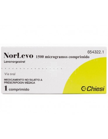 NORLEVO 1.5 mg 1 comp