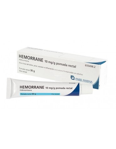 HEMORRANE HIDROCORTISONA POMADA 30 G