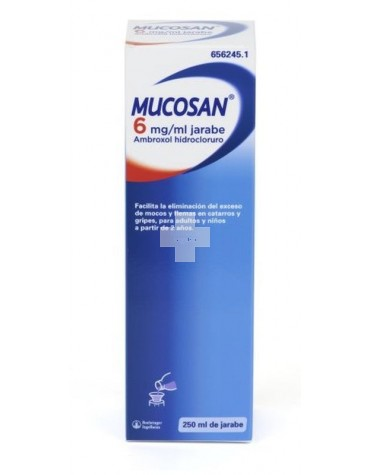 MUCOSAN 6 MG / ML JARABE 250 ML