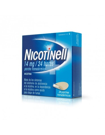 NICOTINELL 14 mg/24 HORAS 28 PARCHE TRANSDERMICO