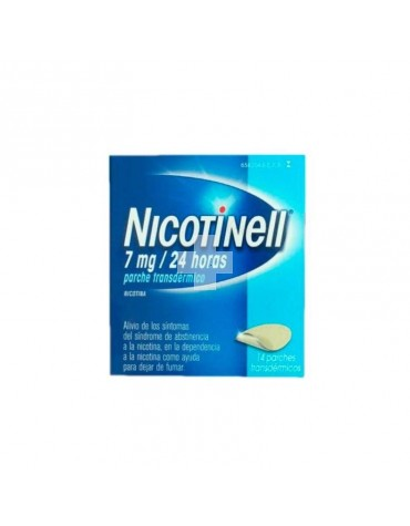 NICOTINELL 7 mg/24 HORAS 14 PARCHES TRANSDERMICOS