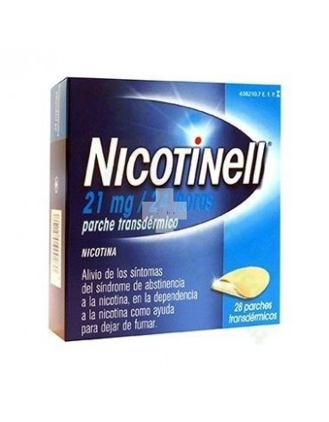 NICOTINELL 21 mg/24 HORAS  28 PARCHES TRANSDERMICOS
