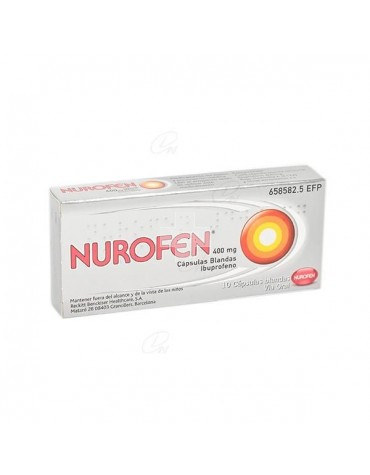 NUROFEN 400 MG 10 CAPS