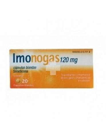 IMONOGAS 120 mg 20 CAPSULAS BLANDAS