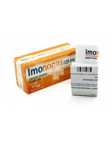IMONOGAS 120 mg cápsulas blandas 40 cápsulas
