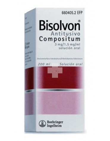 BISOLVON ANTITUSIVO COMPOSITUM 200ML