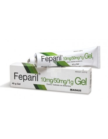 FEPARIL GEL GEL 40 G
