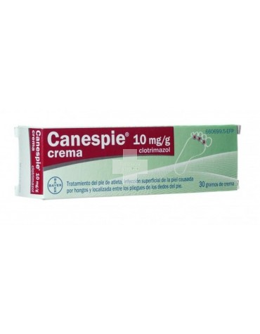 Canespie Clotrimazol 10mg/g Crema 30g.