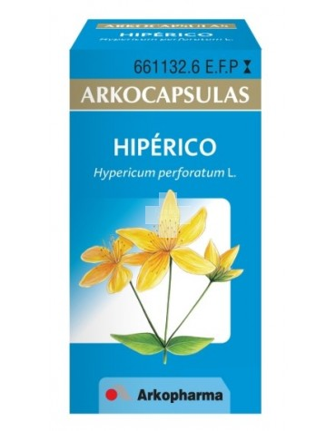 HIPÉRICO ARKOPHARMA cápsulas duras