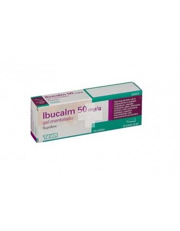 IBUCALM 50 mg/g GEL MENTOLADO , 1 tubo de 60 g