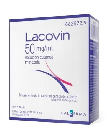 LACOVIN 5% SOLUCION 2 FRASCOS 60 ML
