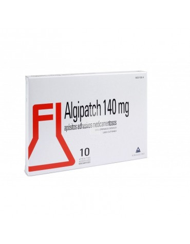 ALGIPATCH 140 mg APOSITOS ADHESIVOS MEDICAMENTOSOS