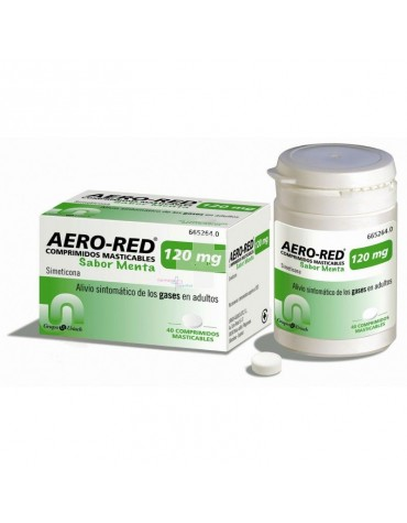 AERO RED MENTA 120 MG 40 COMP