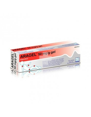 ARAGEL 50 MG GEL 60 G TUBO