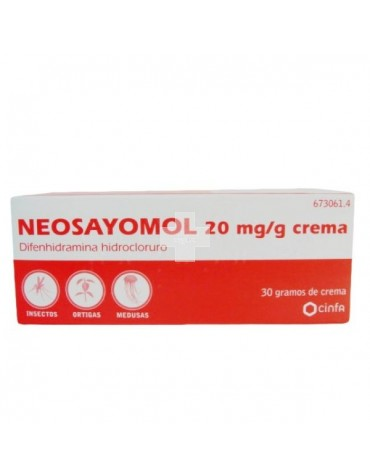 NEOSAYOMOL 20 mg/ g CREMA