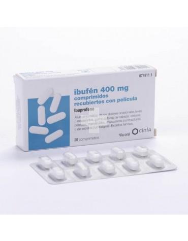 Ibufen 400 mg 20 comprimidos recubiertos con película