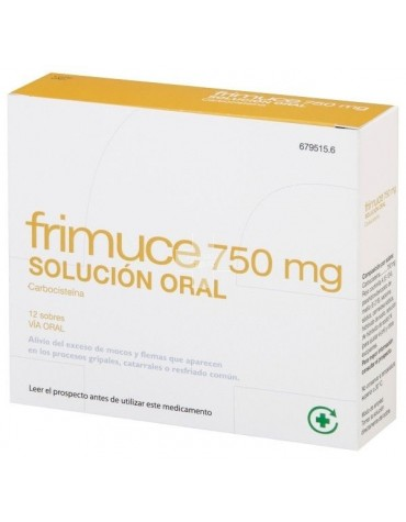 FRIMUCE 750 mg SOLUCION ORAL
