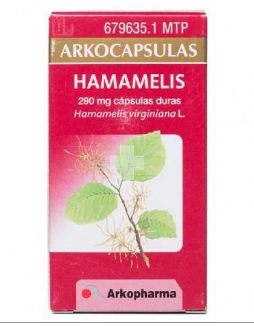 ARKOCAPSULAS HAMAMELIS (290 MG 48 CAPSULAS)