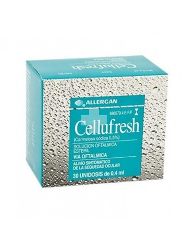 CELLUFRESH 5 mg/ml COLIRIO EN SOLUCION EN ENVASE 30 UNIDOSIS