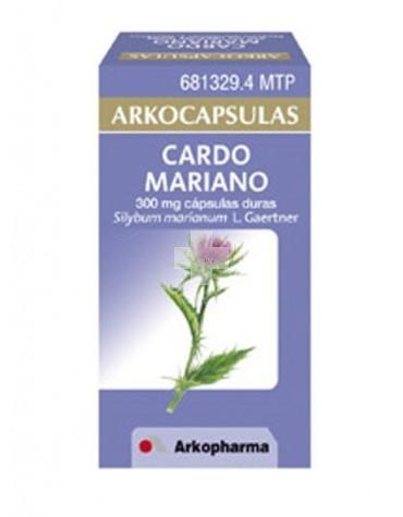 ARKOCAPSULAS CARDO MARIANO (300 MG 50 CAPSULAS)