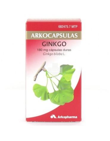 GINKGO ARKOPHARMA 200 cápsulas duras