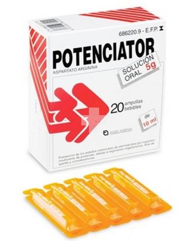 POTENCIATOR 5 g SOLUCION ORAL