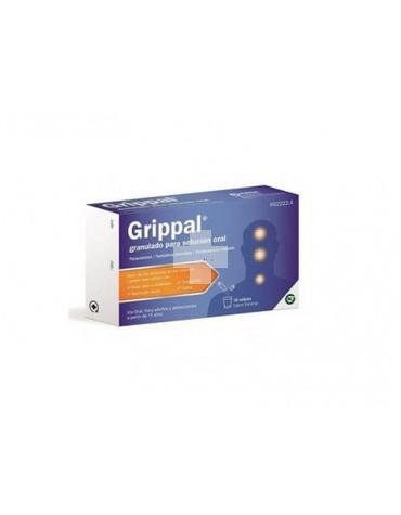 GRIPPAL GRANULADO PARA SOLUCION ORAL , 10 sobres