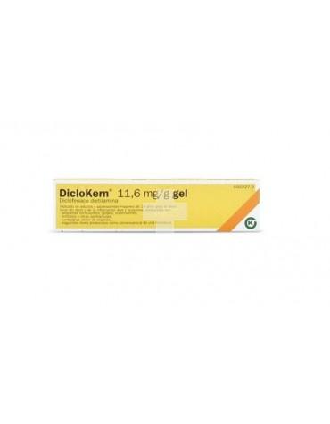 DICLOKERN 11,6 mg/g GEL, 1 tubo de 60 g