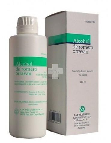 ALCOHOL DE ROMERO ORRAVAN 250